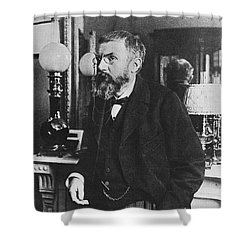 Henri Poincare, French Polymath Shower Curtain by Science Source