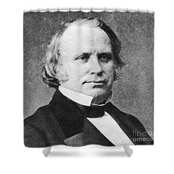 Henry Wilson Shower Curtain by Photo Researchers
