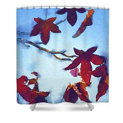 Here Today Shower Curtain