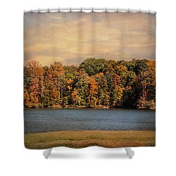 Hidden Cove Shower Curtain by Jai Johnson
