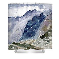 High Mountains Shower Curtain