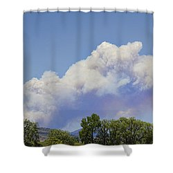 High Park Fire Larimer County Colorado  Shower Curtain by James BO  Insogna