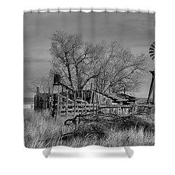 High Plains Wind Shower Curtain