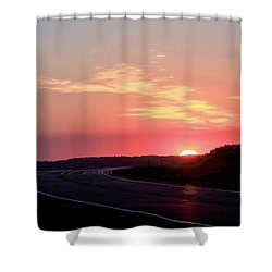Highway To The Sky Shower Curtain
