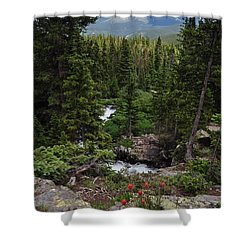Hiking In Colorado Shower Curtain