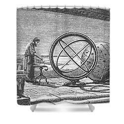 Hipparchus, Greek Astronomer Shower Curtain by Science Source