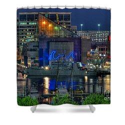 Hmcs Goose Bay Shower Curtain