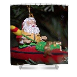 Ho Ho Ho Shower Curtain by Debbi Granruth