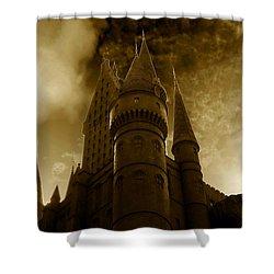 Hogwarts Castle Shower Curtain by David Lee Thompson