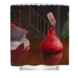Holiday Kiss Shower Curtain