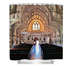 Holy Rosary 2 Shower Curtain