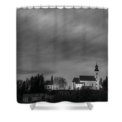 Holy Spirit Church Shower Curtain