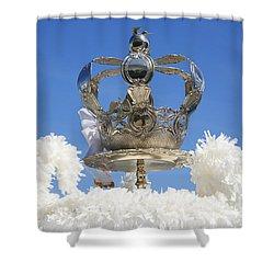 Holy Spirit Crown Shower Curtain by Gaspar Avila