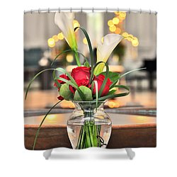 Holy Water Shower Curtain by Brian Duram