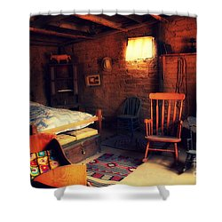 Home Sweet Home 2 Shower Curtain by Susanne Van Hulst