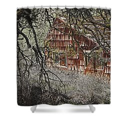 Home Sweet Home Shower Curtain by Mick Anderson