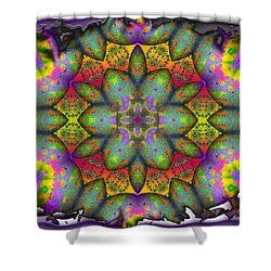 Home Sweet Home Shower Curtain by Robert Orinski
