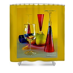 Honor To  Mondrian  Shower Curtain