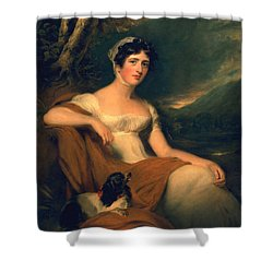 Honorable Emma Cunliffe Later Emma Cunliffe-offley Shower Curtain by Thomas Lawrence