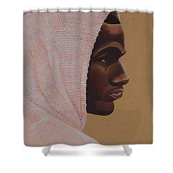 Hood Boy Shower Curtain by Kaaria Mucherera