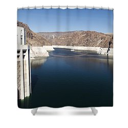Hoover Dam Shower Curtain by Gloria & Richard Maschmeyer