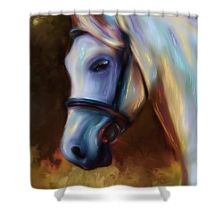 Horse Of Colour Shower Curtain