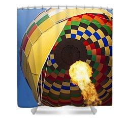 Hot Air Shower Curtain by Rick Berk