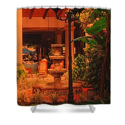 Shower Curtain featuring the photograph Hotel Alhambra by Lydia Holly