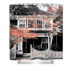 House In Cooper Young Shower Curtain