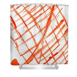 House Of Deceit Shower Curtain by Taylor Webb