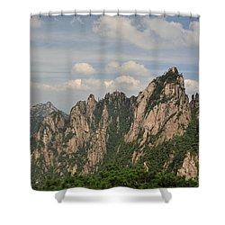 Huangshan Granite 2 Shower Curtain