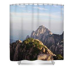 Huangshan Morning Shower Curtain