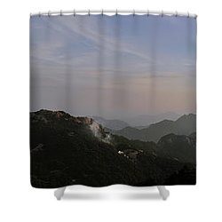 Huangshan Panorama 5 Shower Curtain