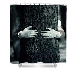 hug Shower Curtain by Joana Kruse