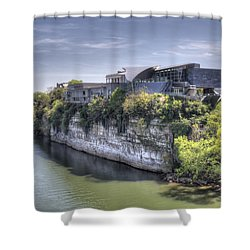 Hunter Museum  Shower Curtain by David Troxel
