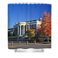 Hunter Museum In Autumn Shower Curtain