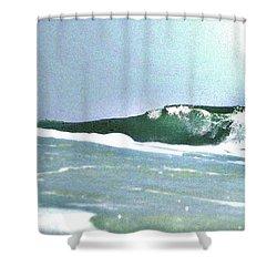 Huntington Wave Shower Curtain