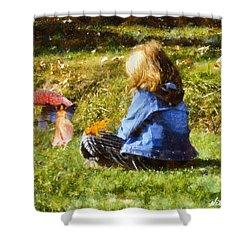 I Believe In Fairies Shower Curtain by Nikki Marie Smith