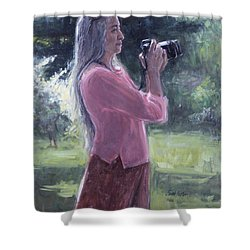 I. Bohorquez Shower Curtain by Sarah Yuster