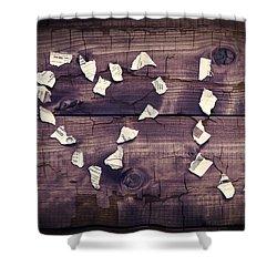 I Love You Shower Curtain by Joana Kruse