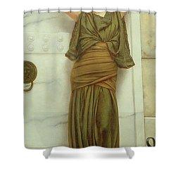 Ianthe Shower Curtain by John William Godward