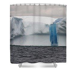 Iceberg Shower Curtain by Eunice Gibb