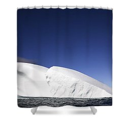 Iceberg In Canadian Arctic Shower Curtain by Richard Wear