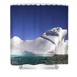Iceberg In The Canadian Arctic Shower Curtain by Richard Wear