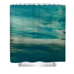 Icelandic Sky Shower Curtain by Michael Canning