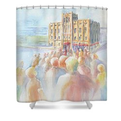 Ideal Organization In Orange County Shower Curtain