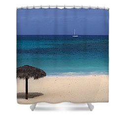 Shower Curtain featuring the photograph Idyllic Day by Lynn Bolt