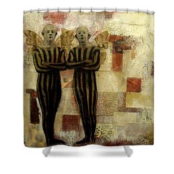 If Only I Could Fly Shower Curtain by Susan McCarrell