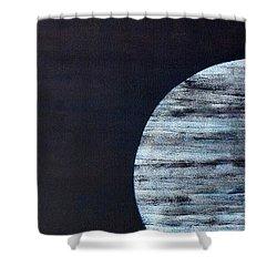 Shower Curtain featuring the painting Illumination by Barbara Moignard