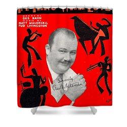 I'm Thru Withlove Shower Curtain by Mel Thompson
